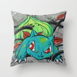 Bulba Bulba Throw Pillow