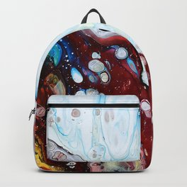 Abstract Drop Backpack