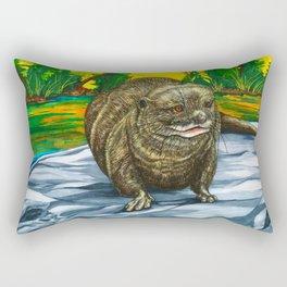The Otter Rectangular Pillow