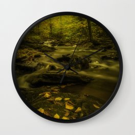 At peace with nature Wall Clock