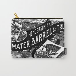 Henderson's Water Barrel & Truck 1894 Carry-All Pouch
