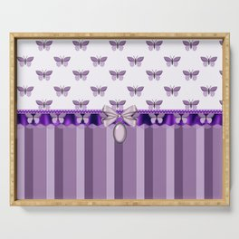 Dreaming Butterflies Serving Tray