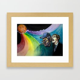The Strawberry Sun Framed Art Print