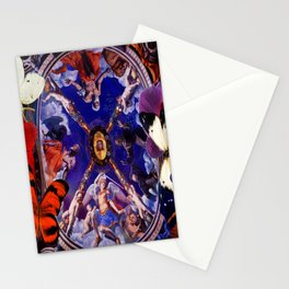 Butterflies in Cappella di Eleonora Stationery Cards