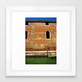 The Colors of Venice Framed Art Print