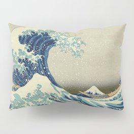 Katsushika Hokusai -The Great Wave off Kanagawa Pillow Sham
