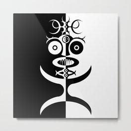 African Idol Metal Print