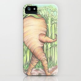 Walkin Carrot iPhone Case