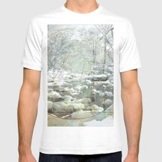 poesia romanesca  Mens Fitted Tee MEDIUM White