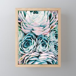 Pastel Paradise Framed Mini Art Print
