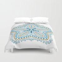 starfish Duvet Covers featuring Starfish by Scott Aichner