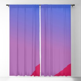 Constancy to purpose Blackout Curtain