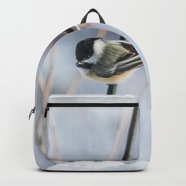 Chickadee waiting Backpack
