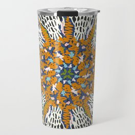 Crotchet Mandala Travel Mug
