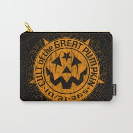Cult of the Great Pumpkin: Alchemy Logo Carry-All Pouch