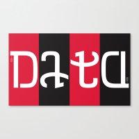 data Canvas Prints featuring data by rwpstudio