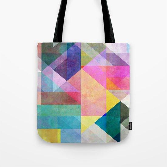 Color Blocking 2 Tote Bag