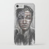 springsteen iPhone & iPod Cases featuring Shackled and Drawn by Westling