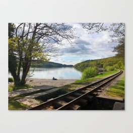 Miniature Railways In Wales Canvas Print