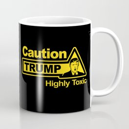 Caution - Trump Coffee Mug