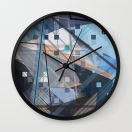 The Future Starts Slow Wall Clock