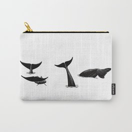 Whale flukes Carry-All Pouch