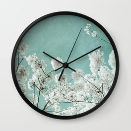 flowering season Wall Clock