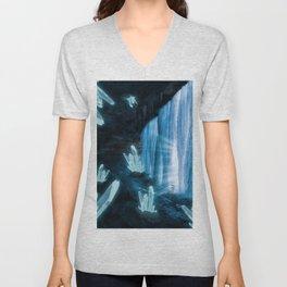 Crystal Planet Unisex V-Neck