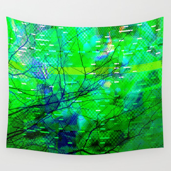 Rejected < The NO Series (Green) Wall Tapestry