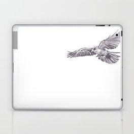 Pencil Drawing - Crow Laptop & iPad Skin