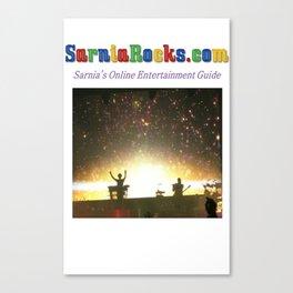 SarniaRocks T-shirt 2 Canvas Print
