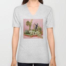 The Wonders of Cactus Island Unisex V-Neck