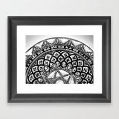 Moroccan Bowl Framed Art Print