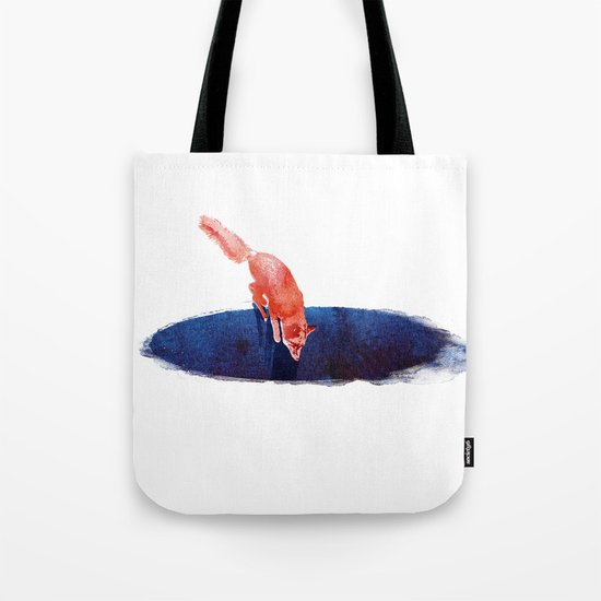 Jump into nowhere Tote Bag