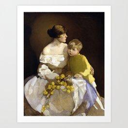 Little Brother, Norah Neilson Gray Art Print