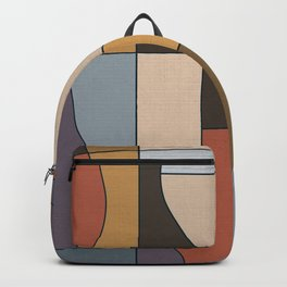 Abstract Lines Backpack