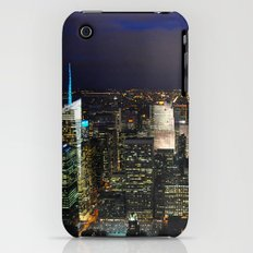 New York City at Night iPhone (3g, 3gs) Slim Case