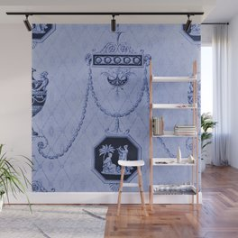 Blue Royalty Wall Mural