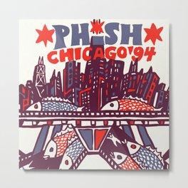 phish chicago 94 2021 Metal Print