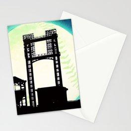 Moon stadium Stationery Cards