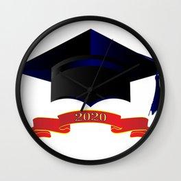 Cap Class Of 2020 Wall Clock