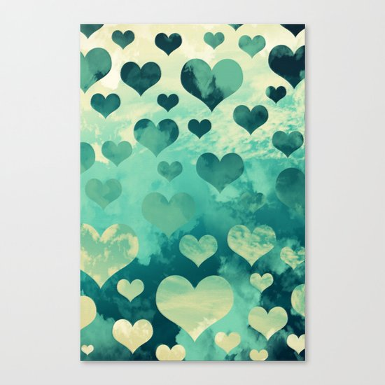 Happy in Love Canvas Print