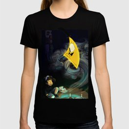 Gravity Falls- Dipper Pines And Bill Cipher T-shirt