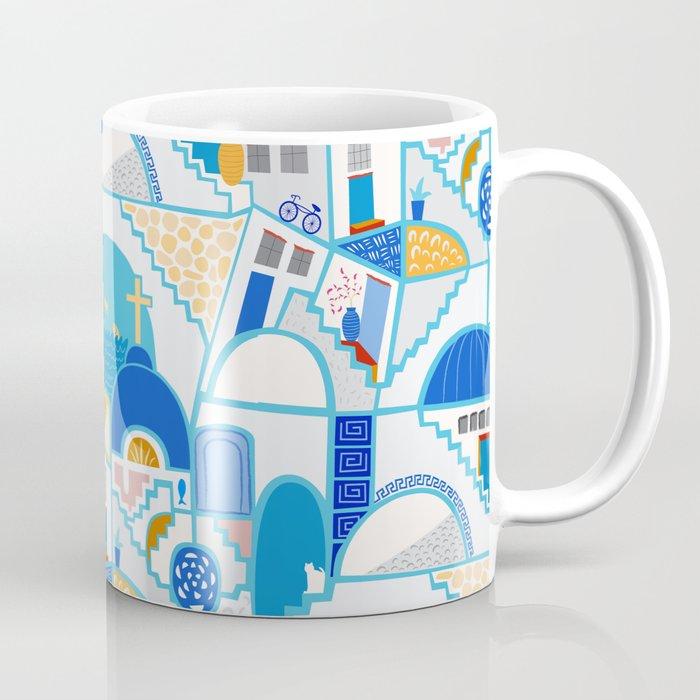 Santorini Coffee Mug By Darleneseale Society6