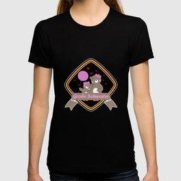 Kinder Große Schwester Geschenkidee Katze Kätzchen  T-shirt