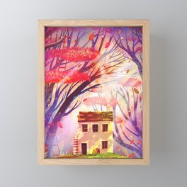 a good place Framed Mini Art Print