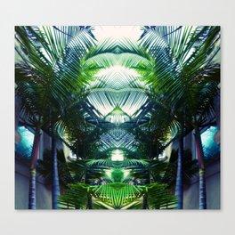 tropical path Canvas Print