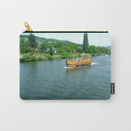 Ship on the River Carry-All Pouch