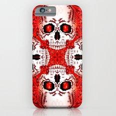 Crystals & Skulls pattern Slim Case iPhone 6s