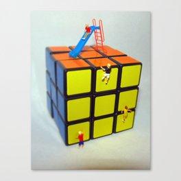 Rubix Cube Playground  Canvas Print